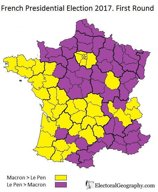 2017 France Macron Lepen
