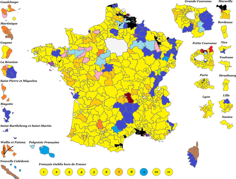 France Legislative Election Electoral Geography - Argentina election map