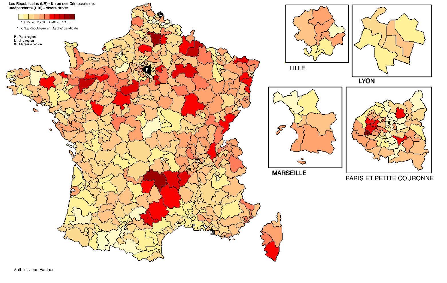 Electoral Geography 2.0 France. Legislative Election 2017