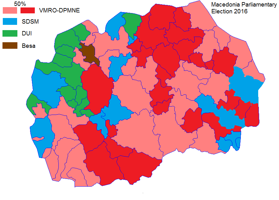Macedonia Election Electoral Geography - Sweden election map