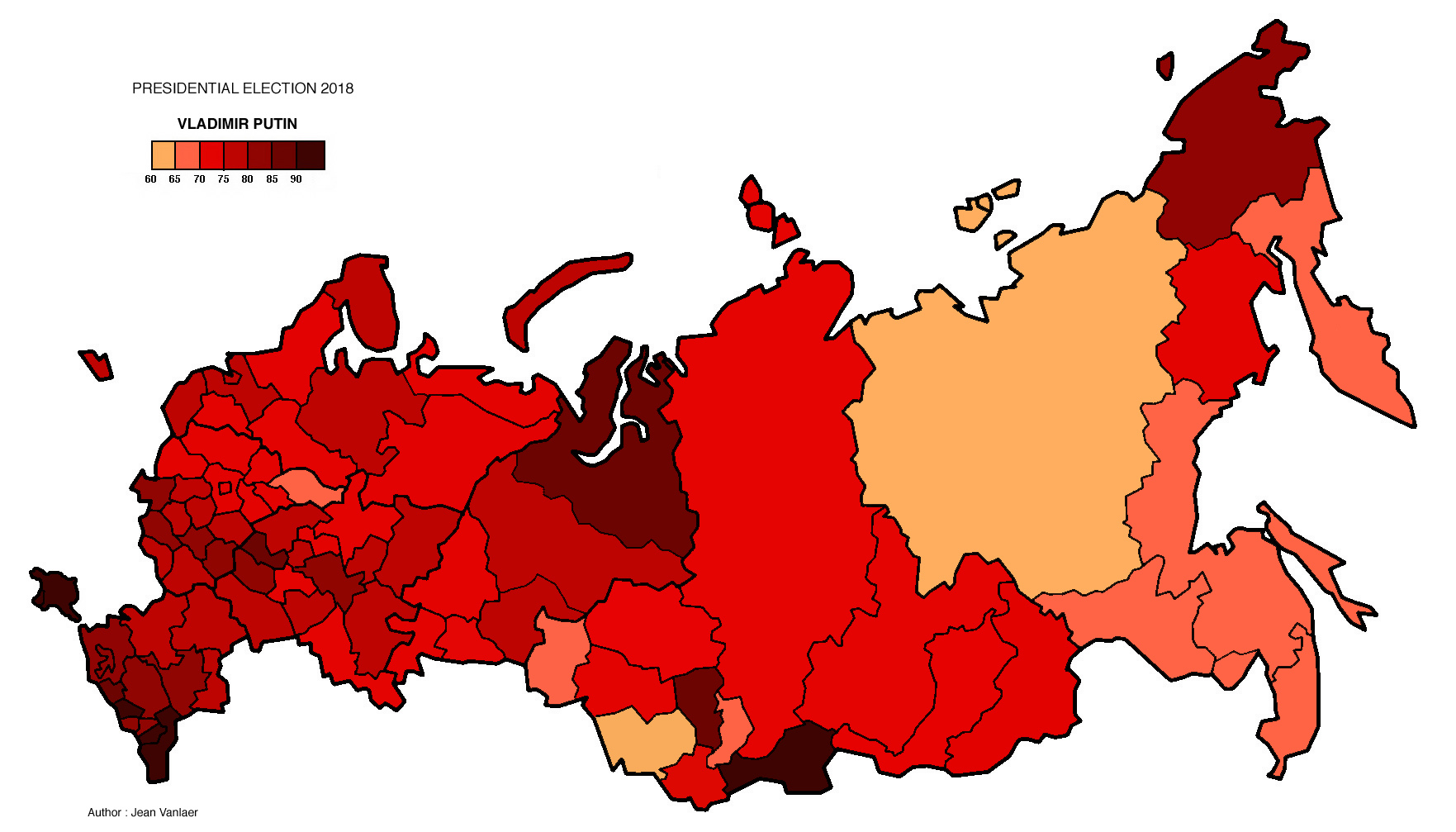 Russia Presidential Election 2018 Electoral Geography 2 0
