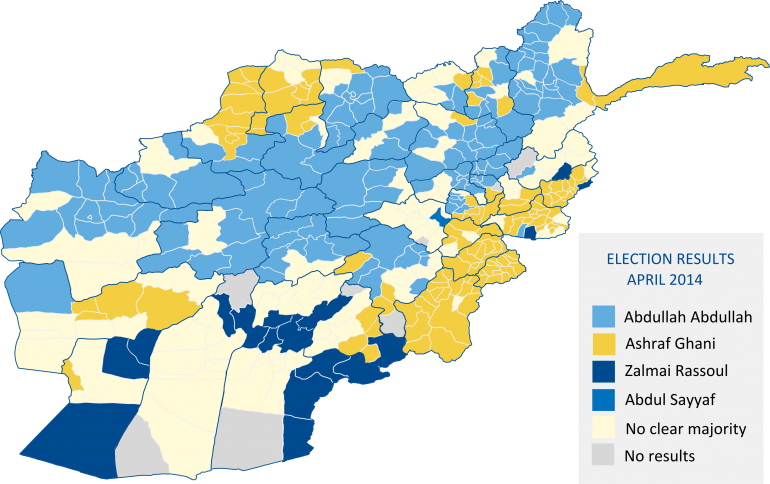 Afghanistan  Presidential Election 2014   Electoral