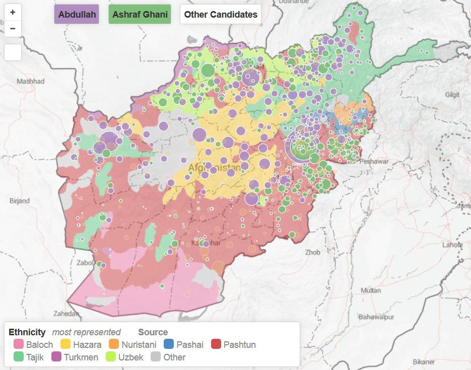 afghanistan electoral map jpg