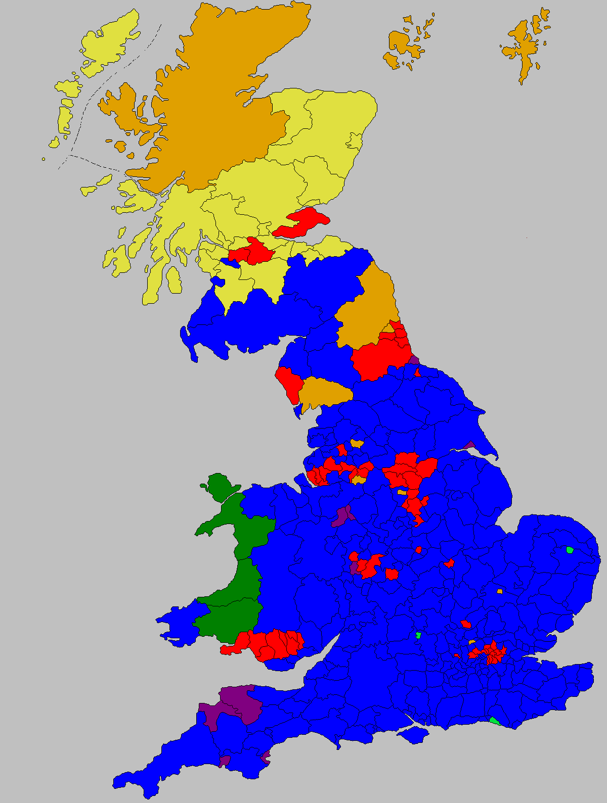 2019 United Kingdom general election in Wales