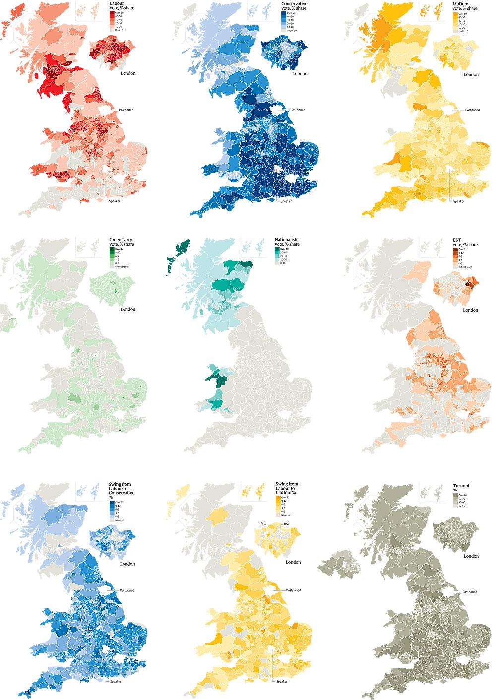 United Kingdom  Parliamentary Election 2010   Electoral