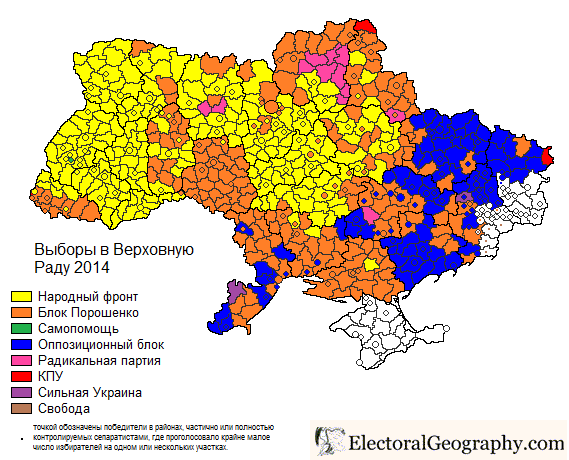 Карта результатов первого тура президентских выборов в ...: http://kireev.livejournal.com/1158181.html